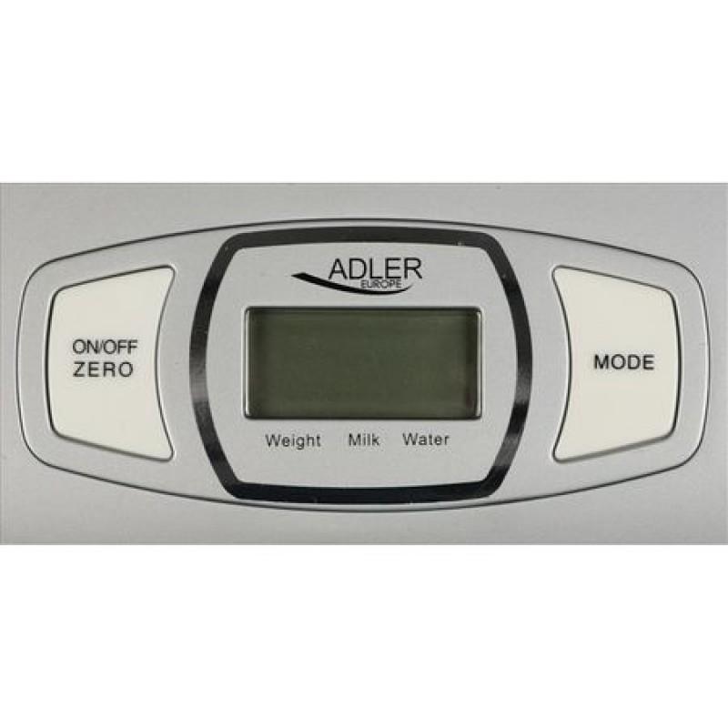 Cantar de bucatarie Adler AD3137S, 1.5 litri, 5 kg