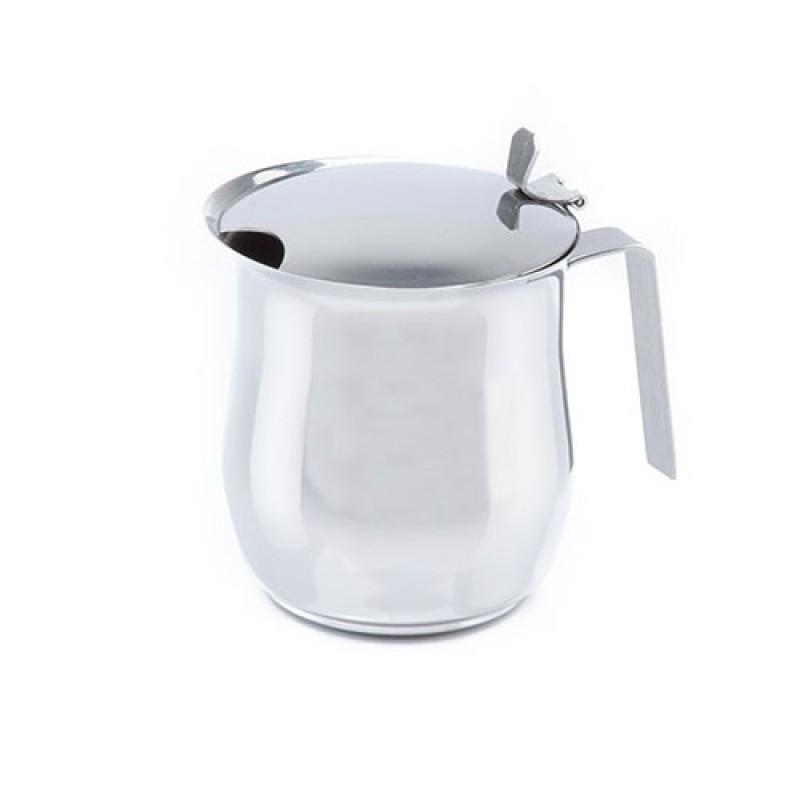 Cana Cafea Inox Cu Capac Si Maner - 18/10 - 0.6Mm - 4 Cesti   - Studio Casa