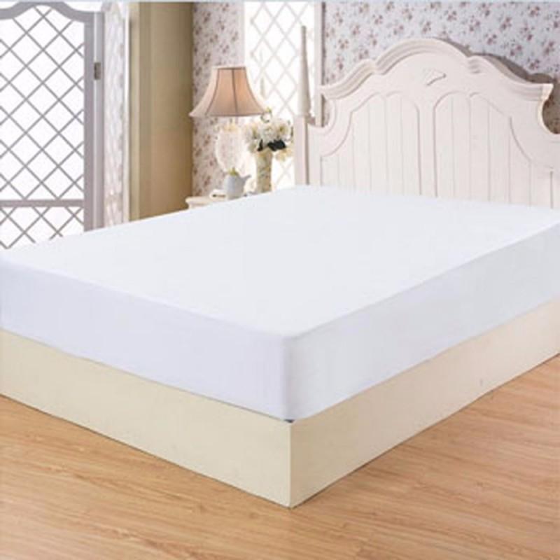Husa pat impermeabila 160/200 cm, alb