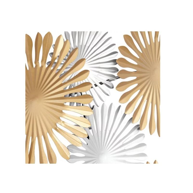 Panou metalic decorativ perete, 3D, OXY, 114*5*74cm