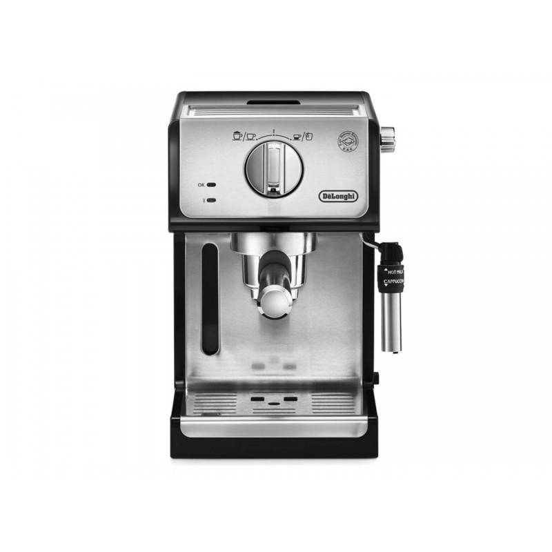 Espressor cu pompa DeLonghi ECP 35.31, 1100 W, 15 bar, 1.1 l, Negru
