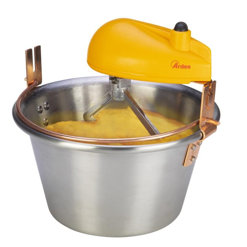Ceaun electric de mamaliga, gemuri si creme usoare Ardes AR 2481, 12 portii,  Inox