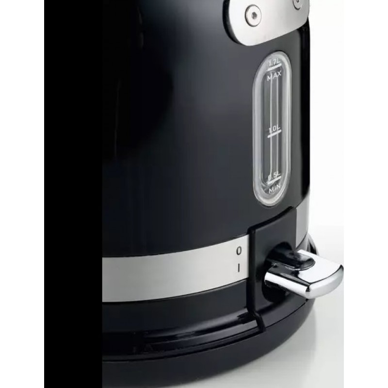 Cana Electrica Ariete Moderna, Negru 2854,1.7 L, 2000 W