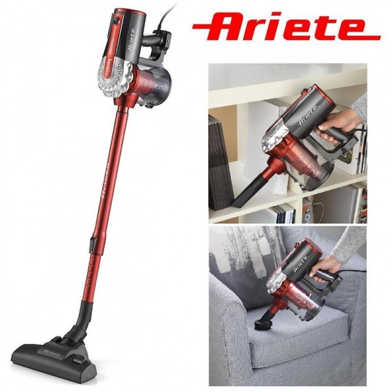 Aspirator Vertical, Fara sac, Ariete 2761, Putere 600W