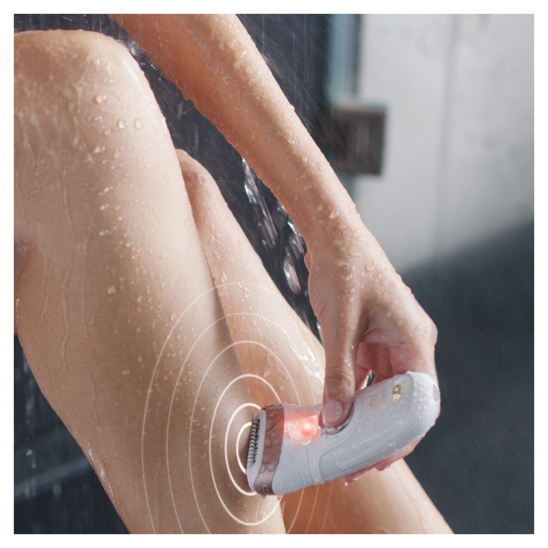 Braun - Epilator Silk-epil 9/870 SensoSmart+Aparat de ras Gillette Venus