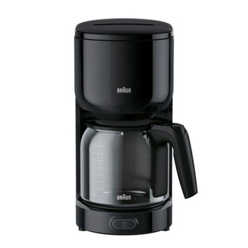 Cafetiera Braun PurEase KF3120BK, 1000W, 1l, Negru