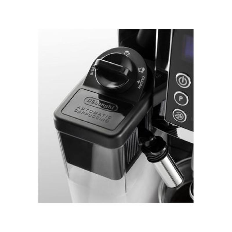 Espressor automat DeLonghi ECAM 23.460, 1450 W, 15 bar, 1.8 l, Negru