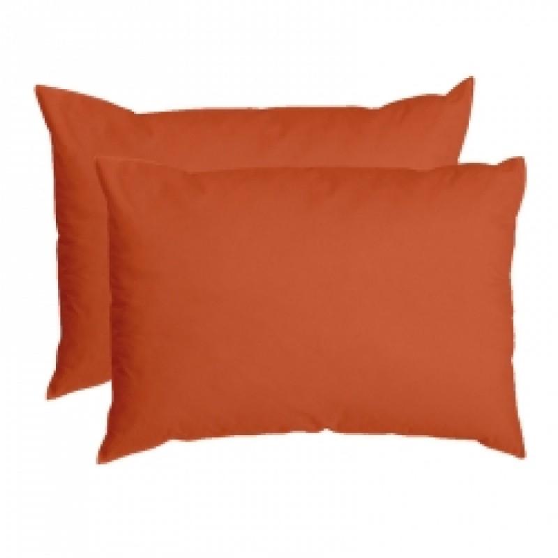 Set 2 Fete Perna  Yuny Mally Home – 100%Bbc, 50 X 70 Cm, Orange