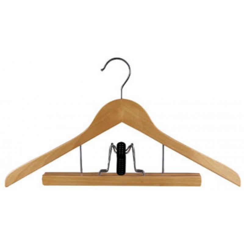 SET - Husa haine 60/150CM + Husa depozitare haine paturi 55/45/15cm + Umeras multifunctional lemn - Coronet