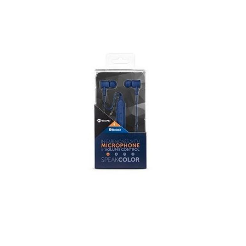 Casti audio Meliconi In Ear Speak Color Blue , Bluetooth , Albastru