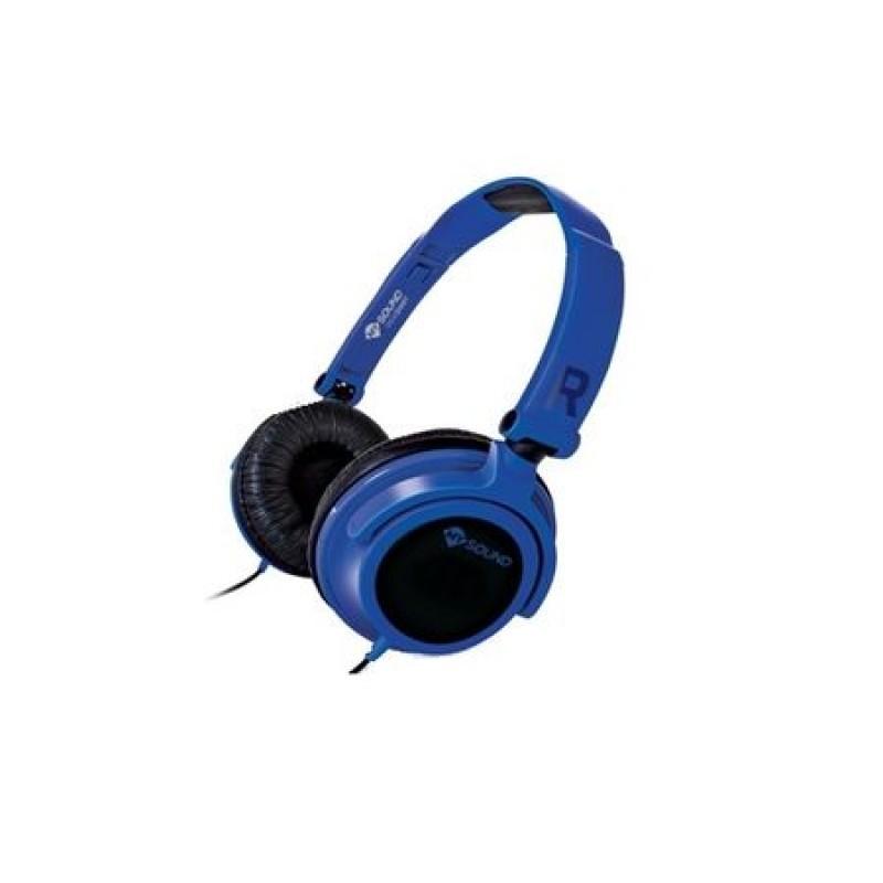 Casti Audio Meliconi Speak Smart Fluo Blue, Albastru