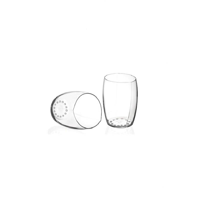 SET 2 PAHARE VIN SPUMANT, WORLD'S BEST, RCR - 39 cl - sticla cristalina - LUXION