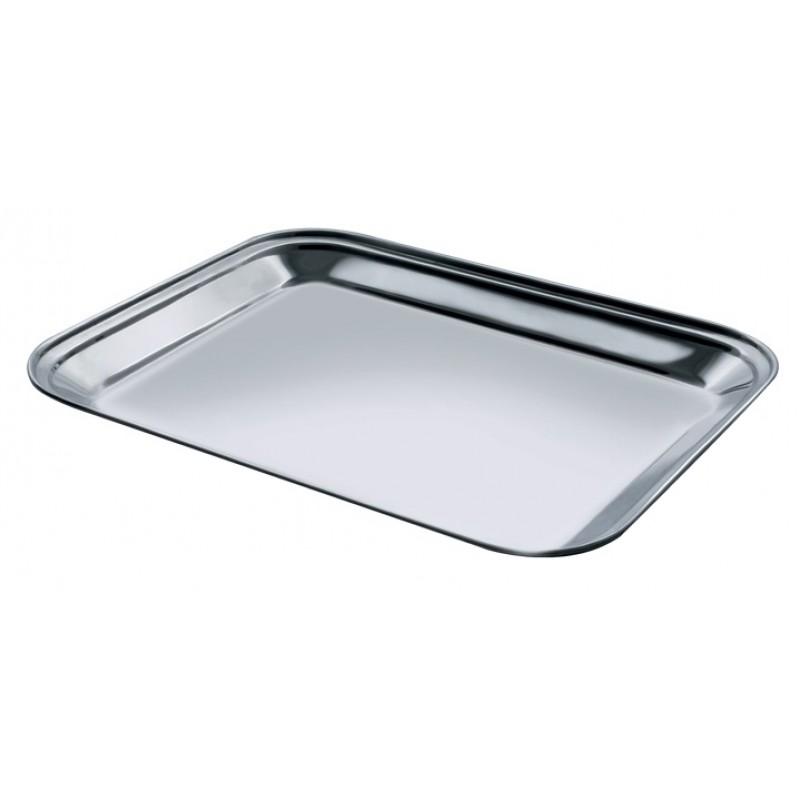 Tava Dreptunghiulara Inox - 40*30Cm, Salvinelli