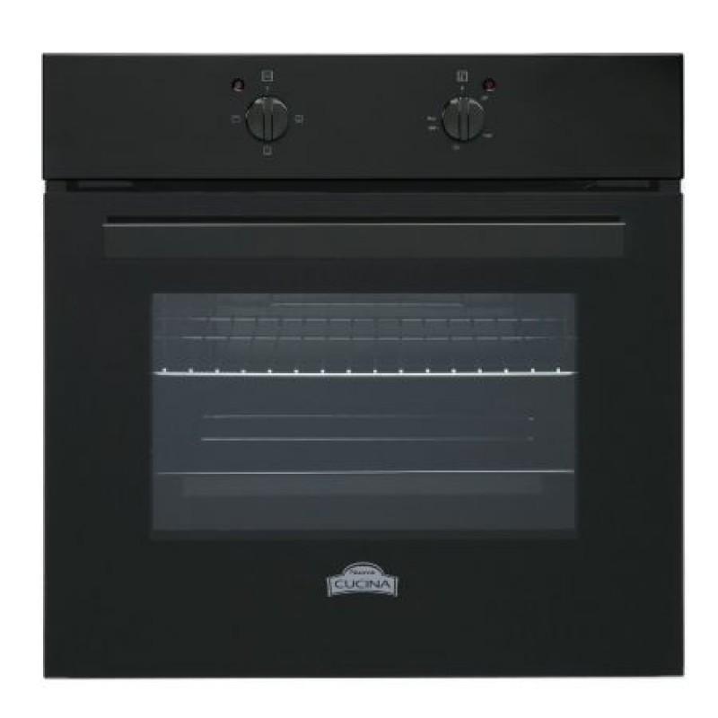 Pachet cuptor electric FE 603BLK si plita gaz PG60BLK, Nuova Cucina