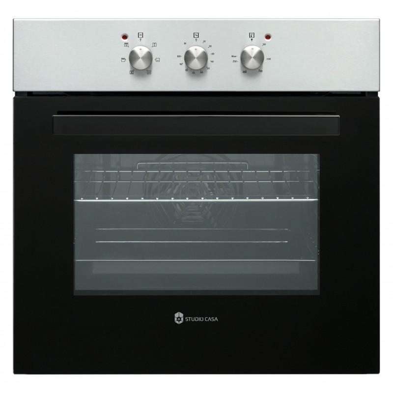 Pachet cuptor electric incorporabil ROMA IX + Plita gaz ROMA CARO + Hota SLIM LEAN ROMA