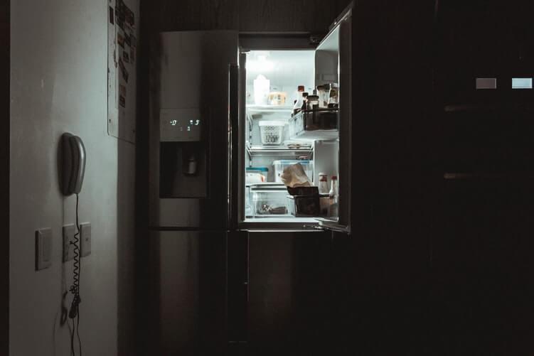 frigider deschis